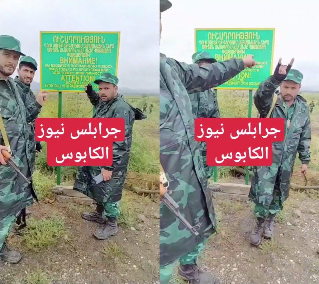 Visual evidence of Turkish-backed terrorists and mercenaries in Azerbaijan fighting against ethnic Armenians in the Second Nagorno-Karabakh (Artsakh) War